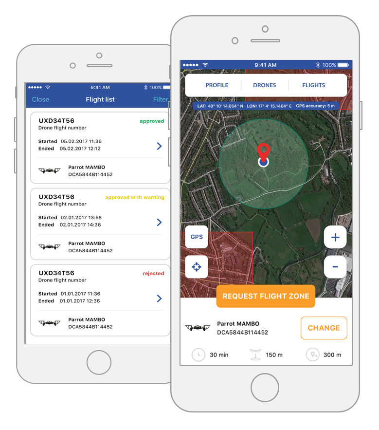 Your drone zone planner | All in one tool for RPAS, IFR, VFR